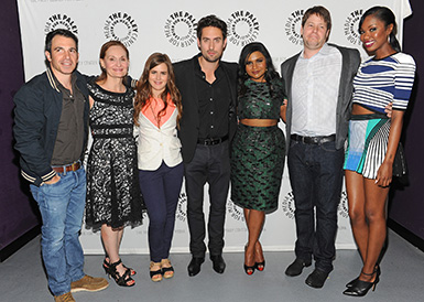 mindy project cast