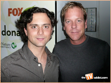 fox fall tv launch party area 2007 keifer sutherland