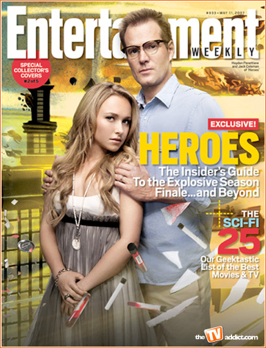 heroes entertainment weekly covers
