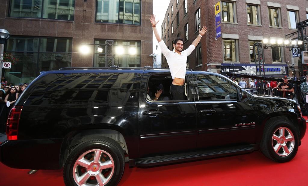 Photo of Nate Ruess  - car